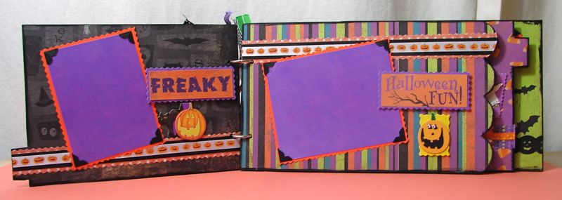 Halloween Chipboard Album