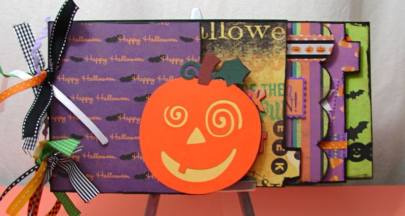 Halloween Chipboard Ablum