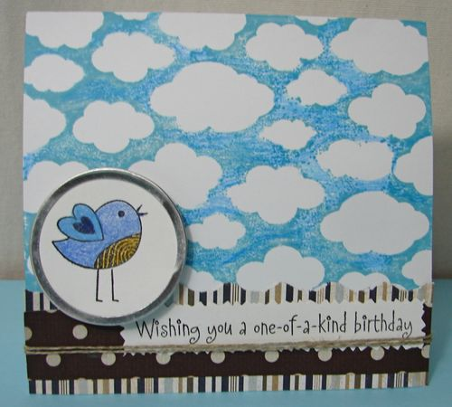 Bird Birthday Card