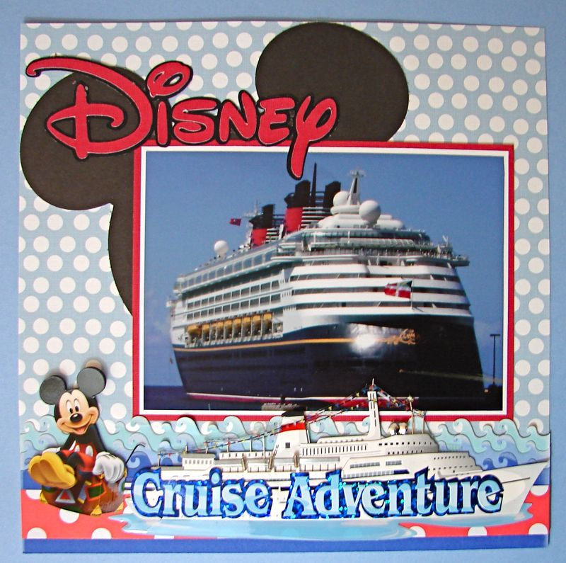 Disney Cruise Layout