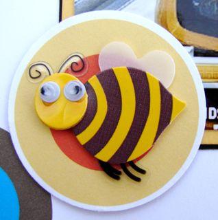 Bumblebee embellishment