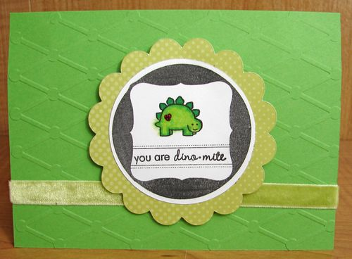 You Are Dino-mite Card
