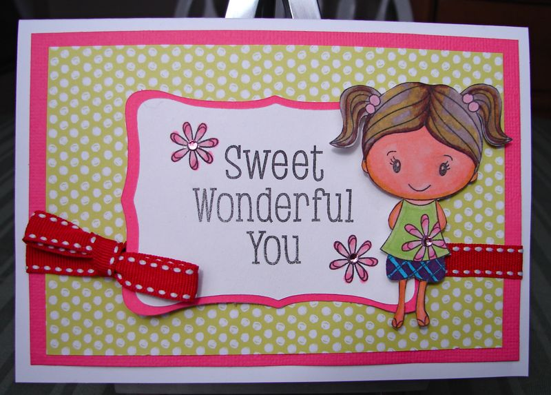 Sweet Wonderful You card